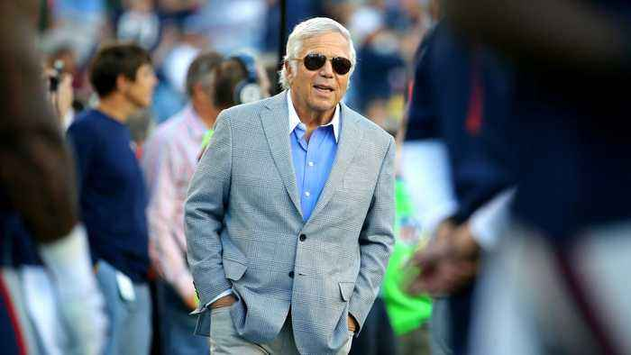 New England Patriots Owner Robert Kraft Charged With Soliciting Sex
