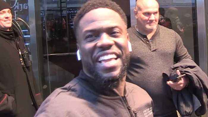 """Kevin Hart Says the Chances Are """"Slim"""" He'll Host the Oscars, But Maybe in the Future"""