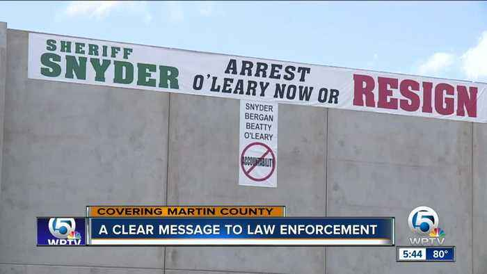 A clear message to the Martin County Sheriff's Office