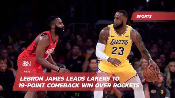 Lebron Claims 'Intensity Activated' With Big Comeback Win