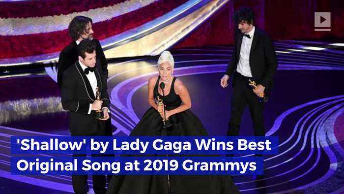 'Shallow' by Lady Gaga Wins Best Original Song at 2019 Oscars