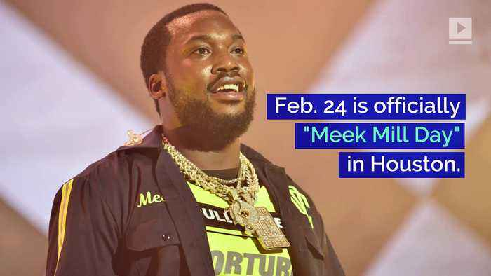 Meek Mill Honored With His Own Day in Houston