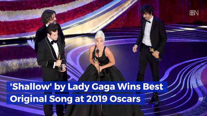 Best Original Song Is 'Shallows' By Lady Gaga