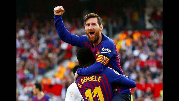 Messi downs Sevilla with 50th career hat-trick