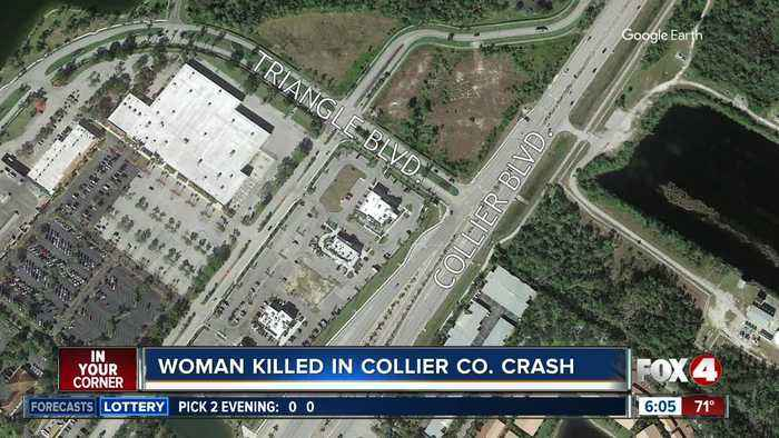 Michigan woman killed in crash on Collier Boulevard