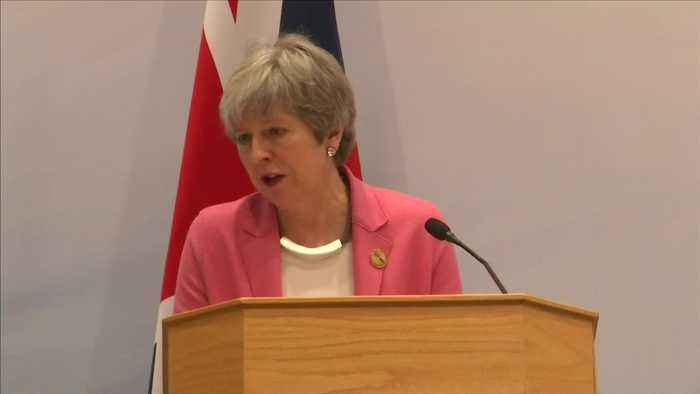 May says delaying Brexit won't deliver a decision in parliament