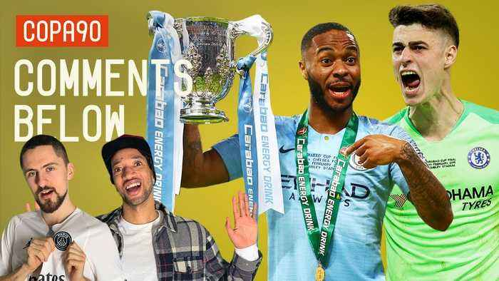 Sterling Pen Wins EFL Cup After Kepa Goes Rogue!   Comments Below