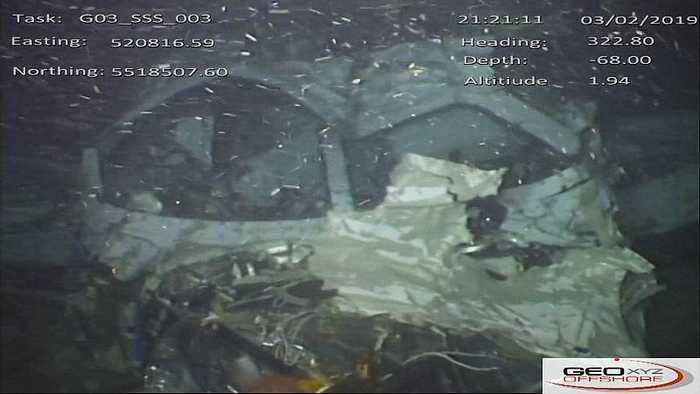 New photos show wreckage of Sala plane on Channel sea bed