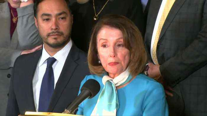 Trump's 'power grab' violates founders' vision: Pelosi