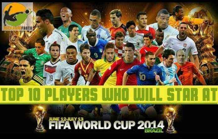 Top 10 Players Who Will Star At The World Cup