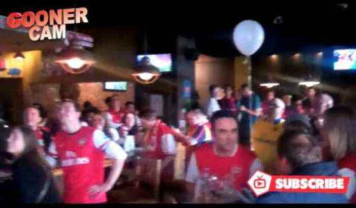 Calgary Gooners Celebrate The FA Cup Victory In Canada