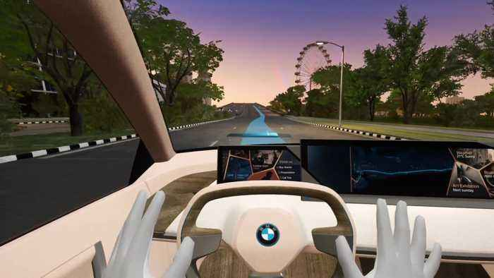 BMW Mixed Reality Experience