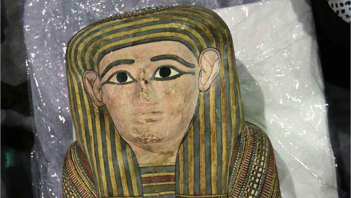 6 Mummy Body Parts Hidden And Discovered In Luggage In Egypt