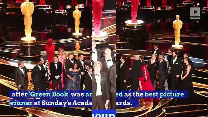 Chadwick Boseman Has Viral Reaction to 'Green Book' Winning Best Picture