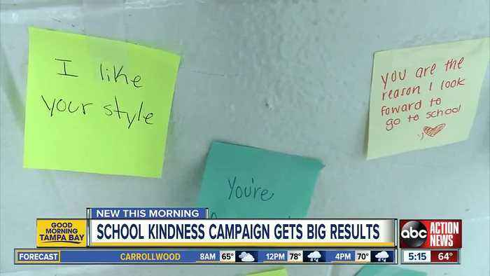 Student-run kindness campaign is a hit with Leto High kids