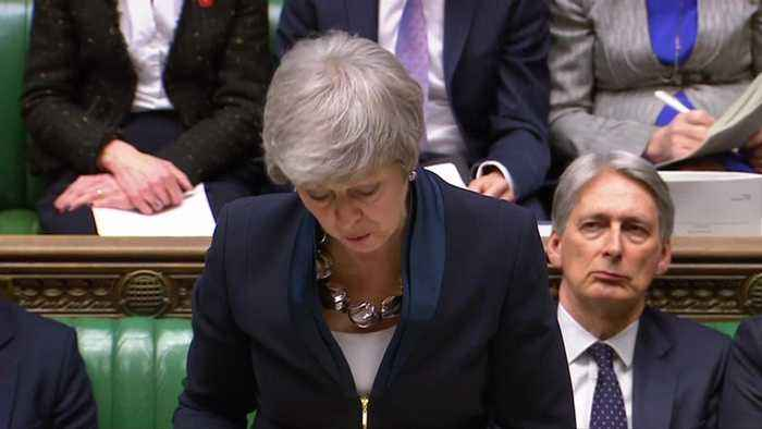 No-deal Brexit or 'short' delay? British PM May offers lawmakers a choice