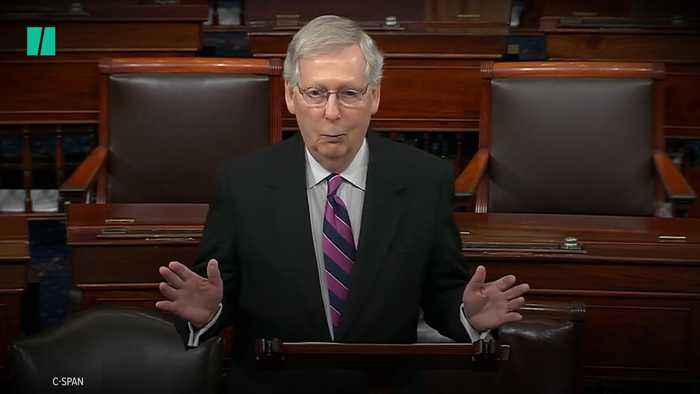 McConnell Lays Blame On Democrats For Election Fraud