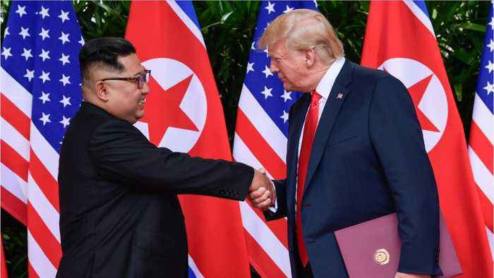 Trump And Kim Set For One On One Meeting In Hanoi