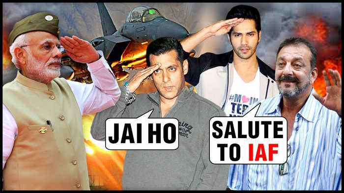 Salman Khan, Varun Dhawan, Sanjay Dutt, Sonakshi Sinha REACTION On IAF Air Strike On Pakistan