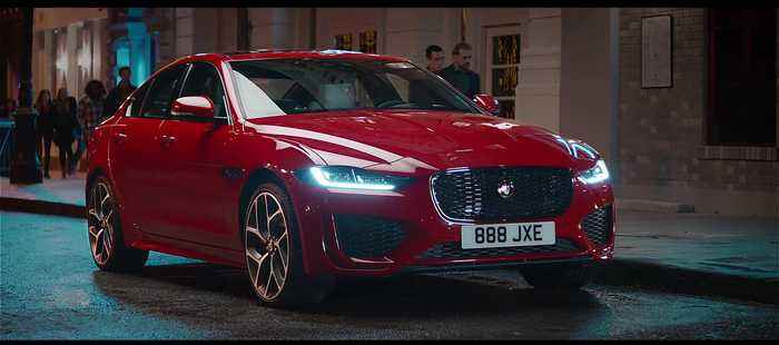 The new Jaguar XE - Reveal film