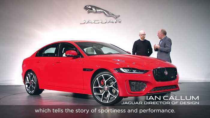 The new Jaguar XE is a Hyper-real work of Art