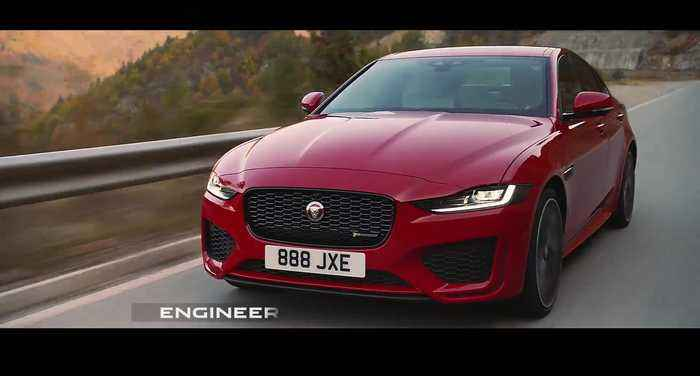 The new Jaguar XE - Performance film
