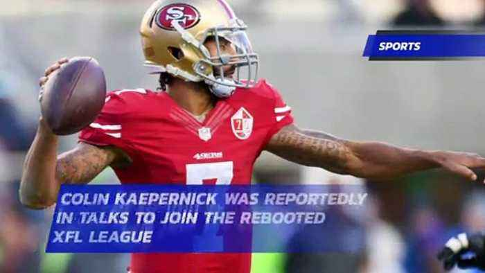Colin Kaepernick Was Reportedly in Talks to Join the Rebooted XFL League