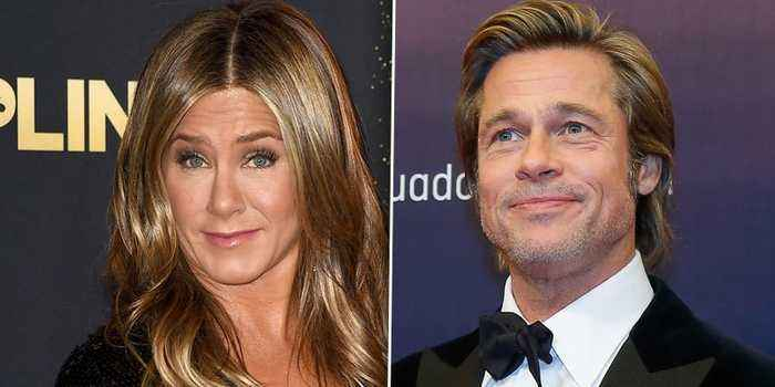 Brad Pitt & Jennifer Aniston Meet Up Again After Reuniting At Her 50th Birthday Party