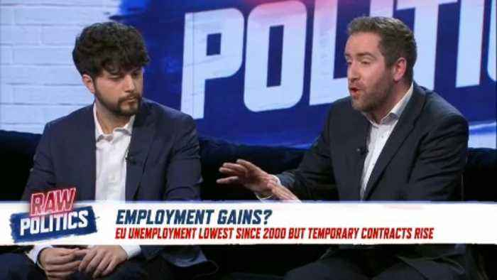Positive EU unemployment figures might not be telling the whole story | Raw Politics