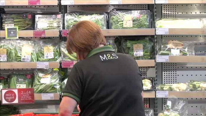 UK's M&S pays 750 million pounds to seal Ocado online food tie-up