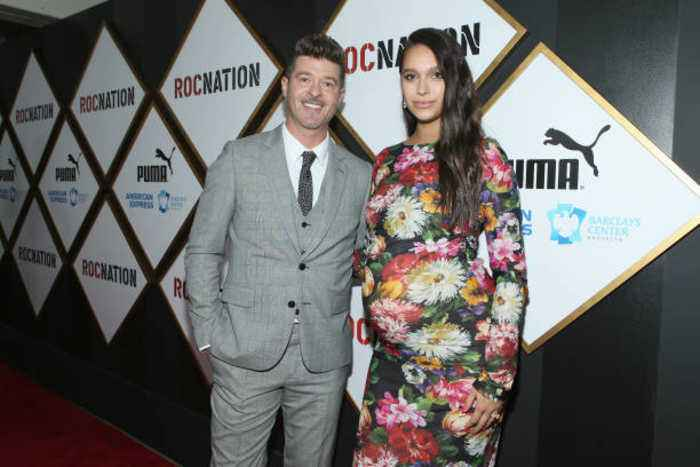 Robin Thicke and April Love Geary welcome their second child