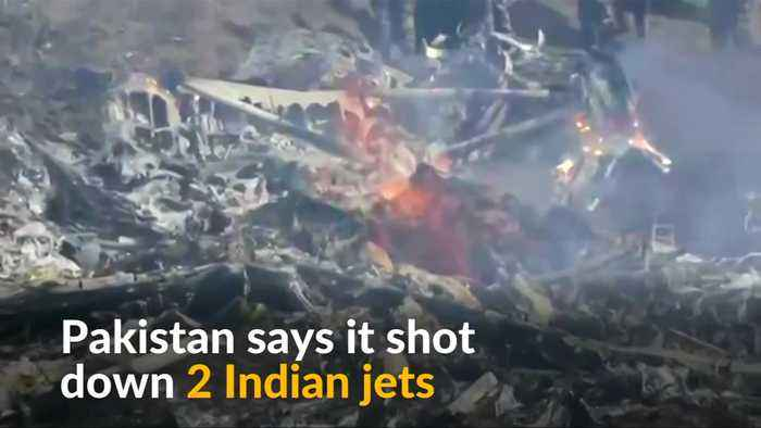 Pakistan claims to have shot down Indian jets as tensions rise