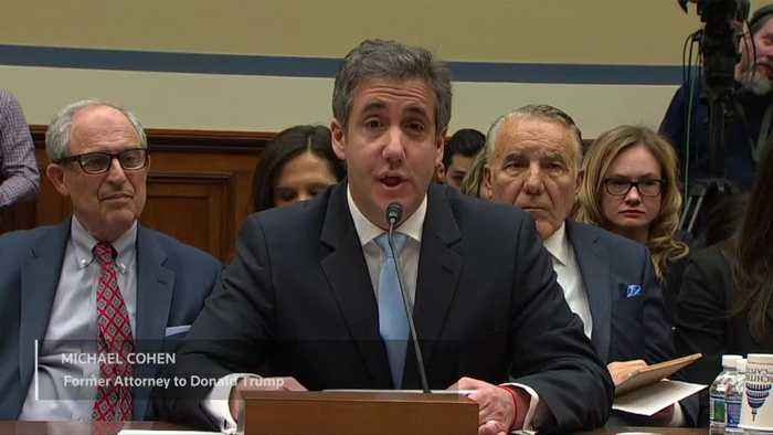 Trump a 'conman,' 'racist,' 'cheat': Cohen