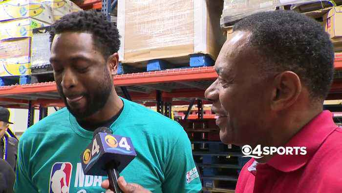 WEB EXTRA: Dwyane Wade Discusses His Final NBA Season During All-Star Weekend Festivities