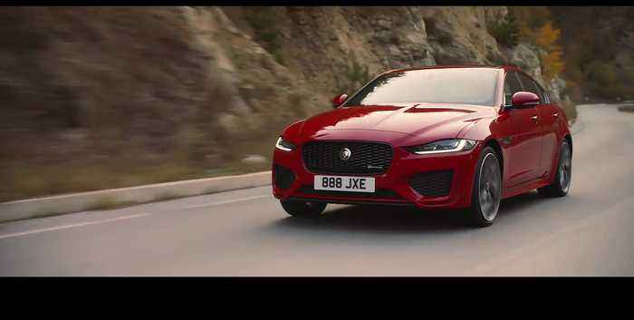 The new Jaguar XE Technology Design