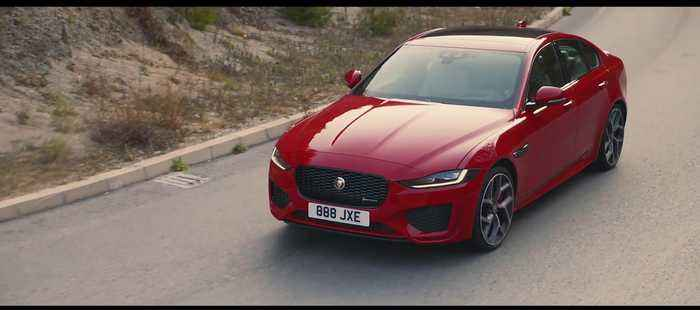 The new Jaguar XE Preview