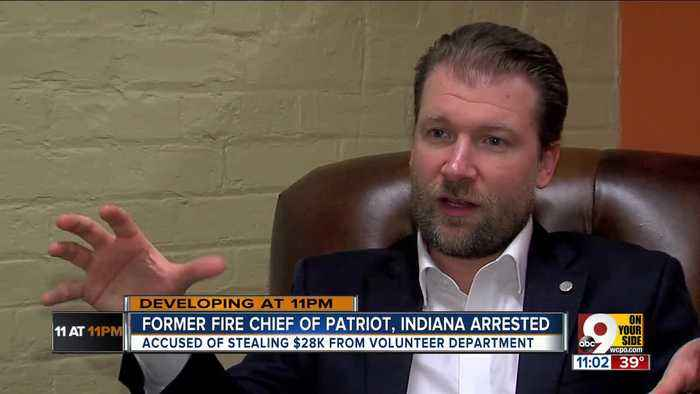 Fire chief accused of $28K theft from defunct department