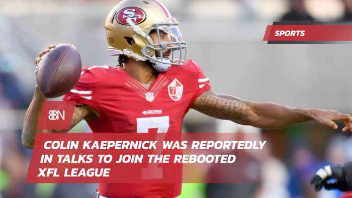 Will Colin Kaepernick Join The XFL