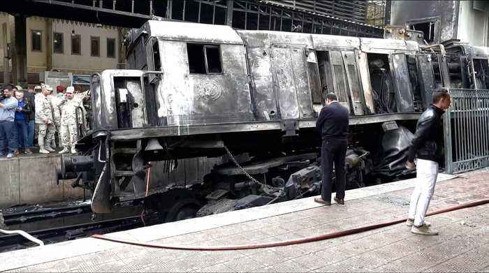 Egypt train crash: Investigators say driver to blame