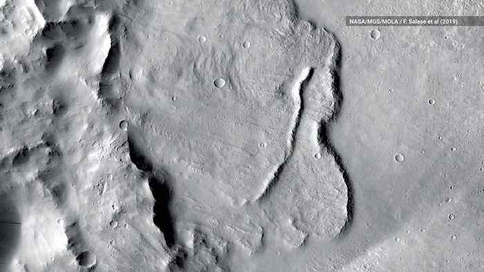 First Evidence of 'Planet-Wide Groundwater System' Found on Mars