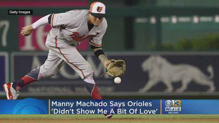 Orioles 'Didn't Show Me A Little Bit Of Love'   Why Manny Machado Signed With The Padres