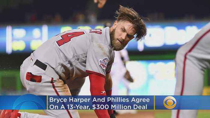 Bryce Harper Signs 13 Year Contract With Phillies