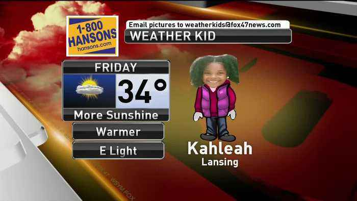 Weather Kid - Kahleah - 3/1/19