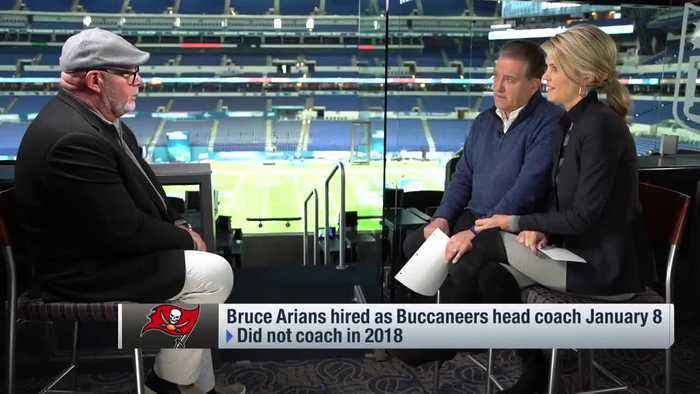 Tampa Bay Bucaneers head coach Bruce Arians shares story about Tampa Bay Buccaneers quarterback Jameis Winston from youth footba