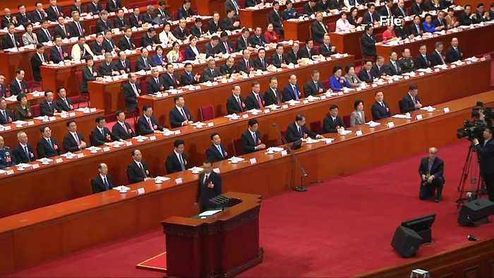 China's slowing economy takes center stage at annual parliament