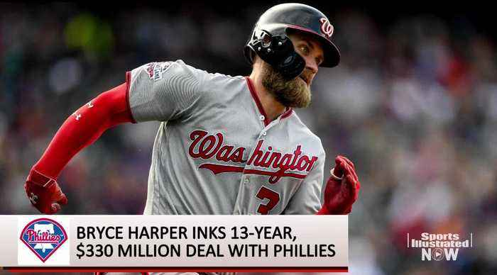 Bryce Harper's Signing Receives a Muted Reaction From New Phillies Teammates