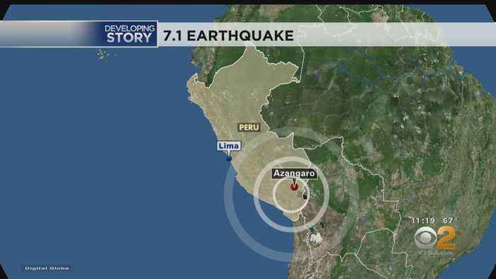 Magnitude-7.1 Earthquake Hits Southern Peru