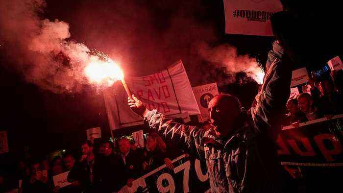 Balkans on the brink: Tense protests flood Montenegrin, Serbian and Croatian capitals