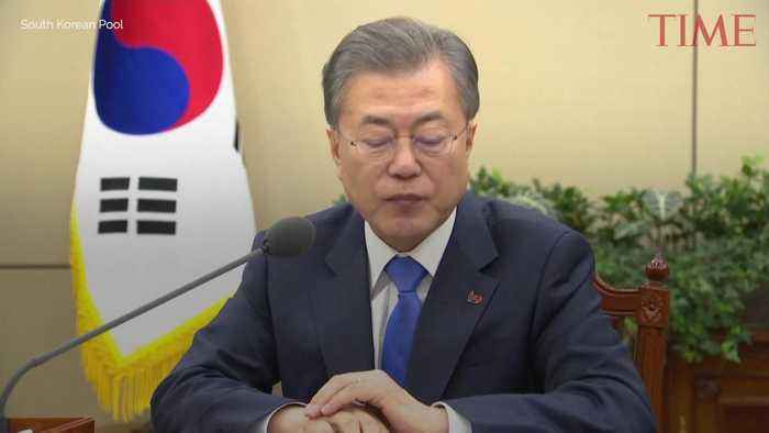 South Korean President Moon Jae-In Calls for Resumption of Nuclear Talks After Summit Fallout