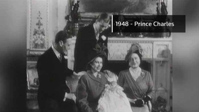 Britain's royal babies through the years